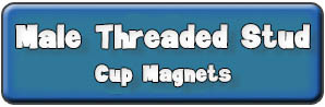 Male Threaded Stud Cup Magnets