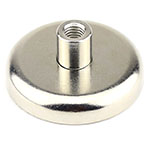 Female Threaded Stud Cup Magnets