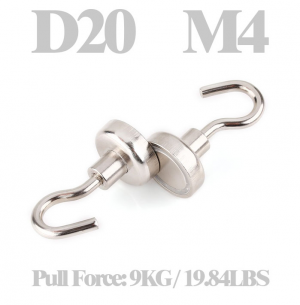 Magnetic hook Ø 20 mm